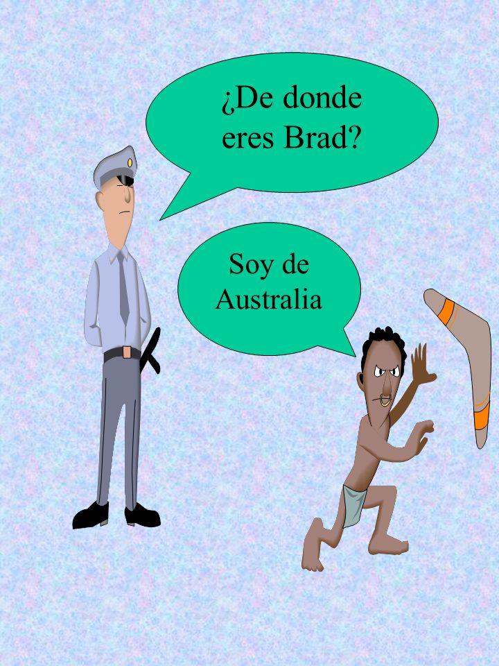 Me llamo…. Soy de……. Soy……….. Enrigue Iglesias España español