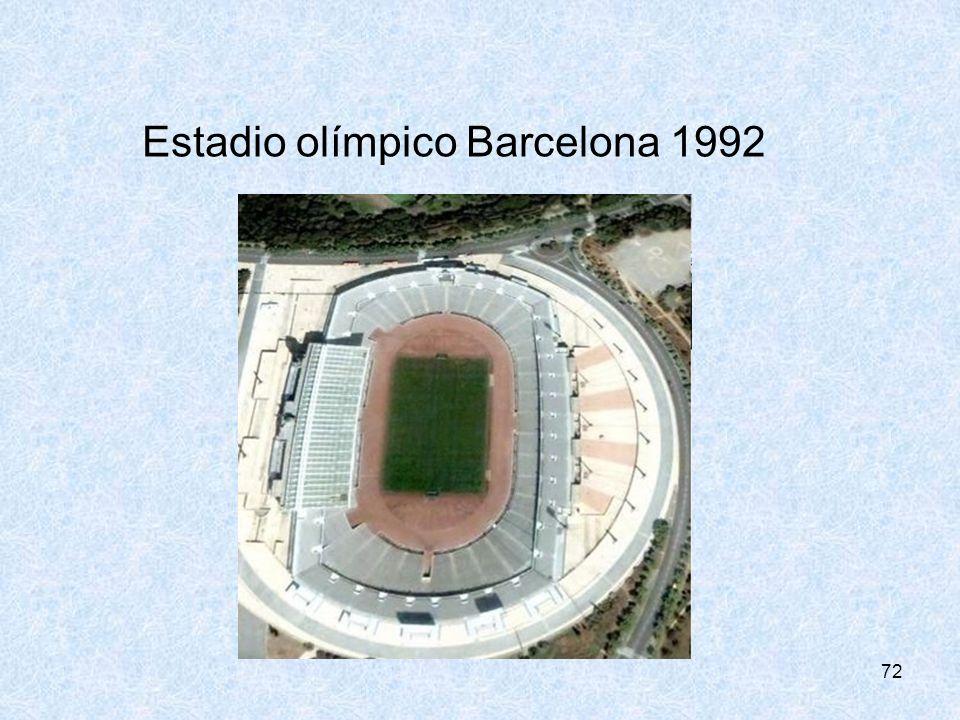 72 Estadio olímpico Barcelona 1992