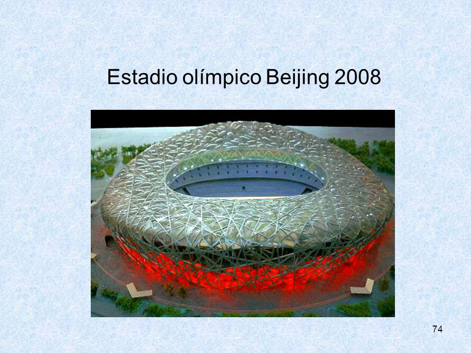 74 Estadio olímpico Beijing 2008