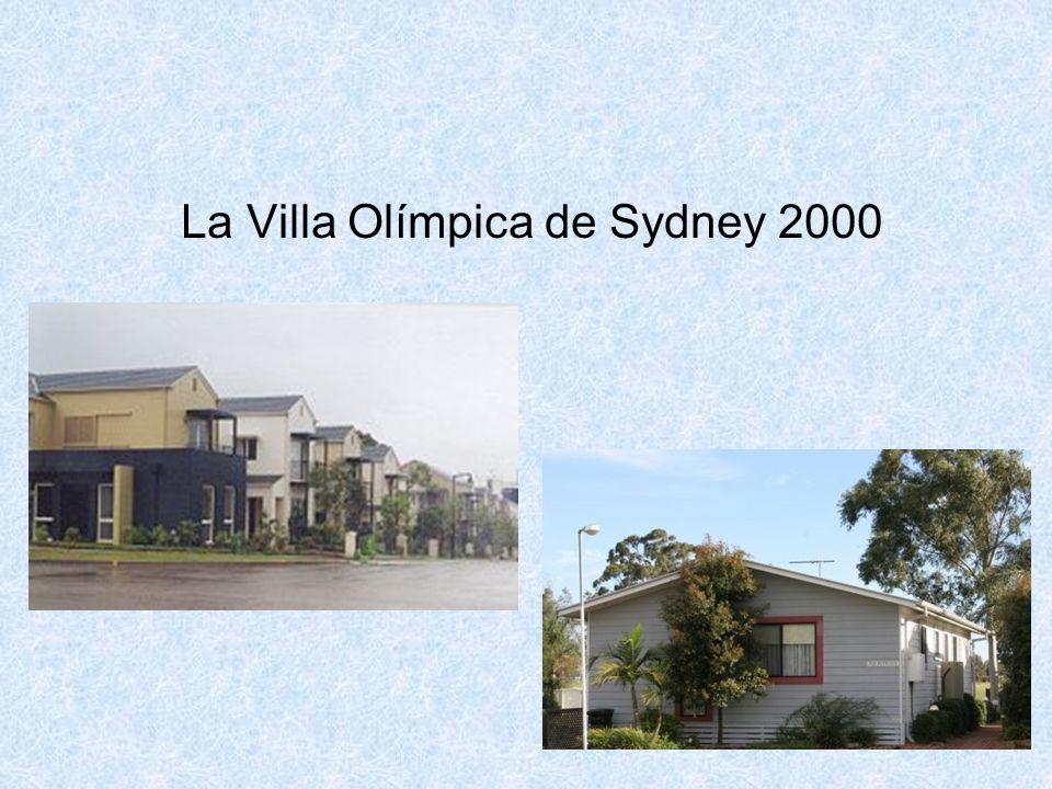 77 La Villa Olímpica de Sydney 2000