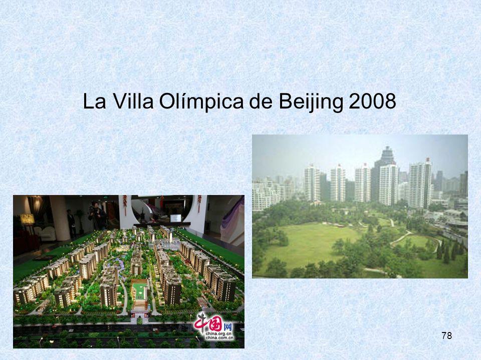 78 La Villa Olímpica de Beijing 2008