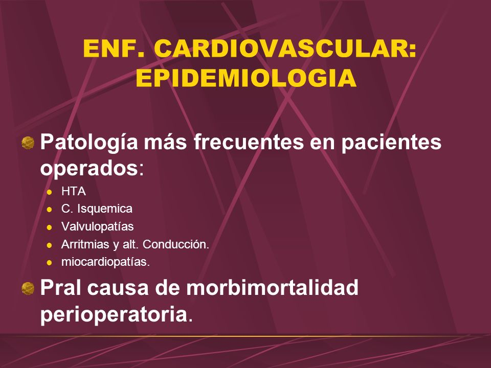 CARDIOPATIA ISQUEMICA PRINCIPAL CAUSA DE MORBIMORTALIDAD PERIOPERATORIA.