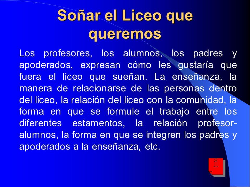 VISIÓN ¿Cuáles son los principales desafíos para la labor formativa del Liceo Manuel de Salas que vienen desde los cambios en la sociedad, especialmente en lo relativo a la sociedad del conocimiento.