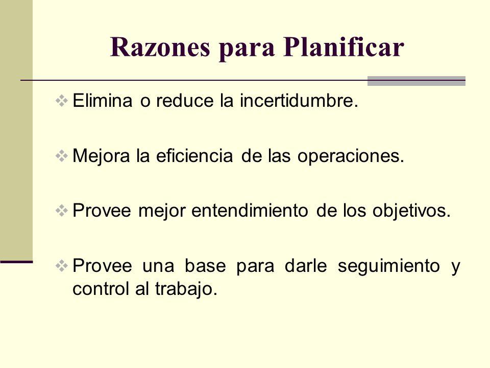 Sistema de Planificación Jerárquica Una forma sencilla y adecuada de ayudarnos a planificar y manejar todo lo antes expuesto se conoce como el Sistema de Planificación Jerárquica conocido también como Even Planning Process.