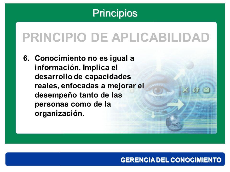 Principios GERENCIA DEL CONOCIMIENTO ¿ Qué es una solución de aprendizaje .