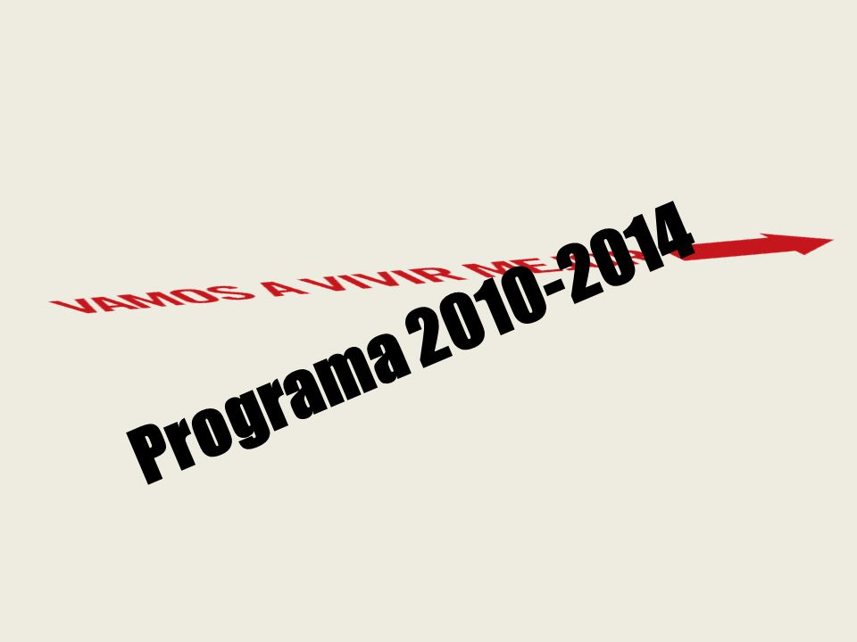 Programa 2010-2014