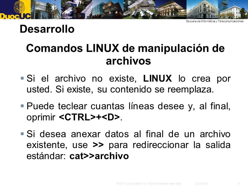 17© 2007 Cisco Systems, Inc.