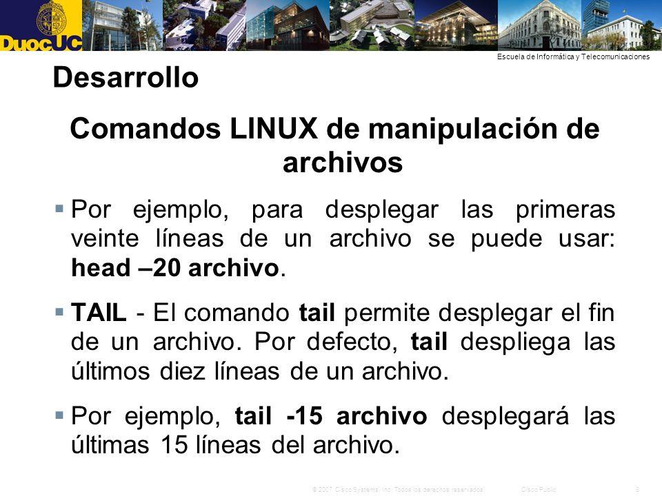 29© 2007 Cisco Systems, Inc.