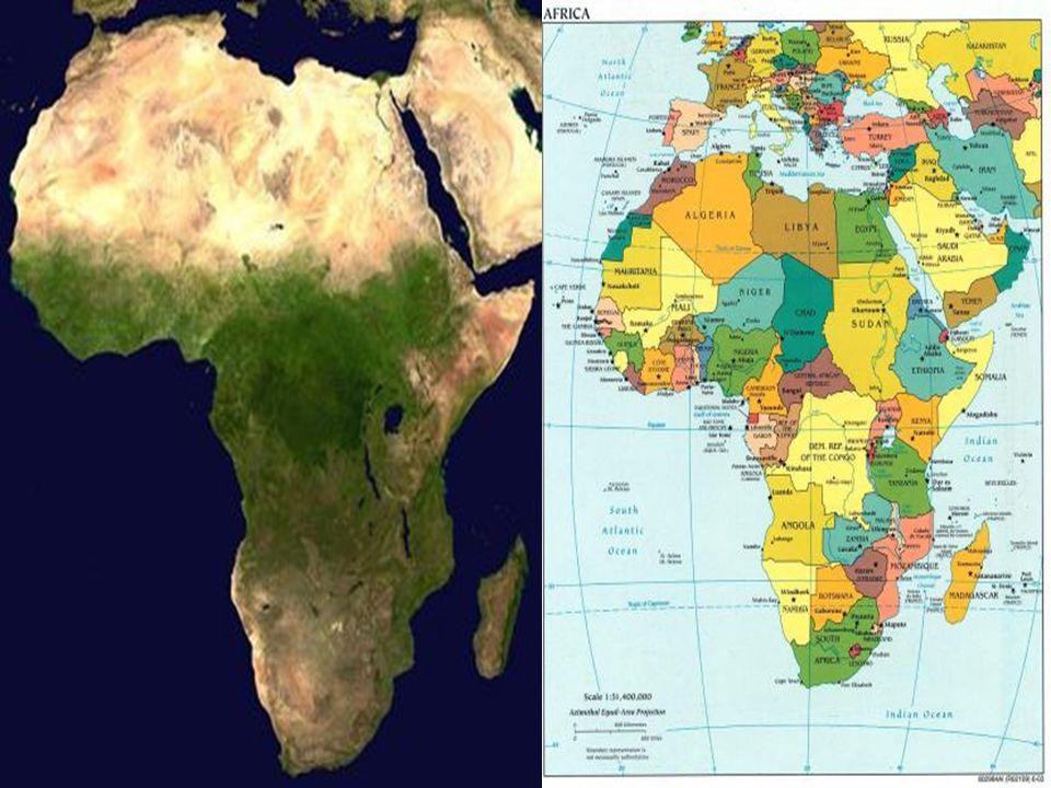 África Occidental Esta región nos ofrece un hermoso y variado paisaje, en el que podemos admirar islas volcánicas, praderas, selvas, macizos montañosos, zonas desérticas que contribuyen a que también el clima sea variado, con abundantes lluvias en algunos lugares mientras en otros hay intensa sequía.