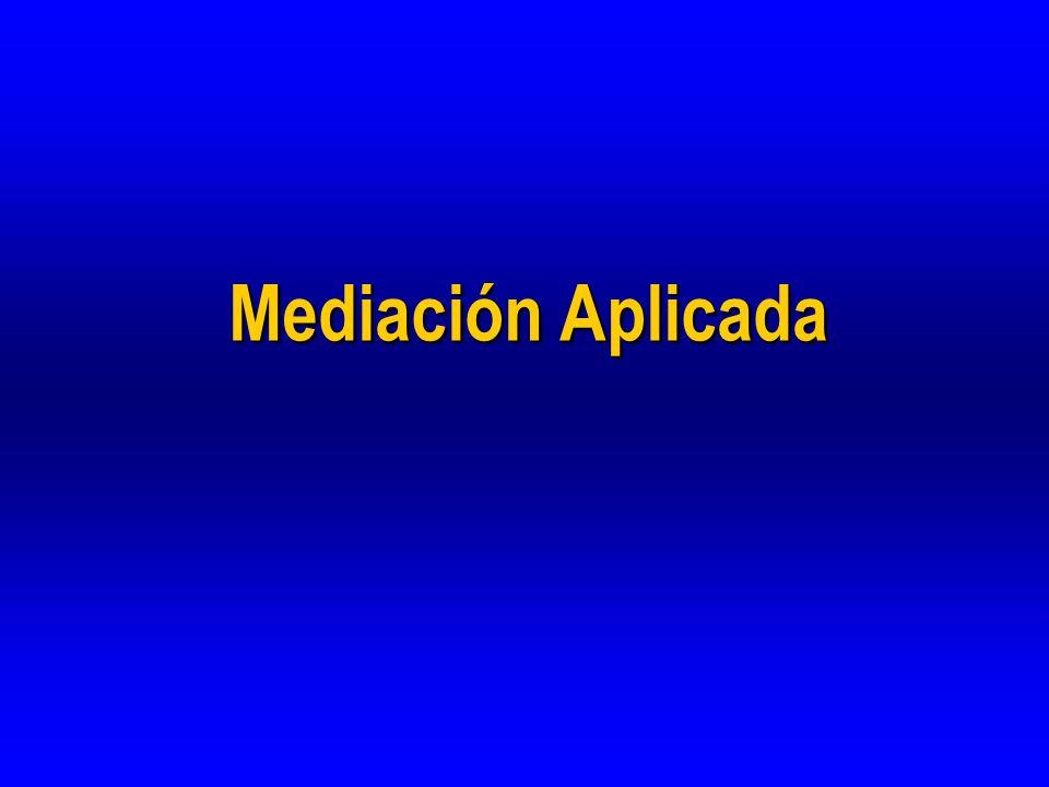 Mediación Aplicada