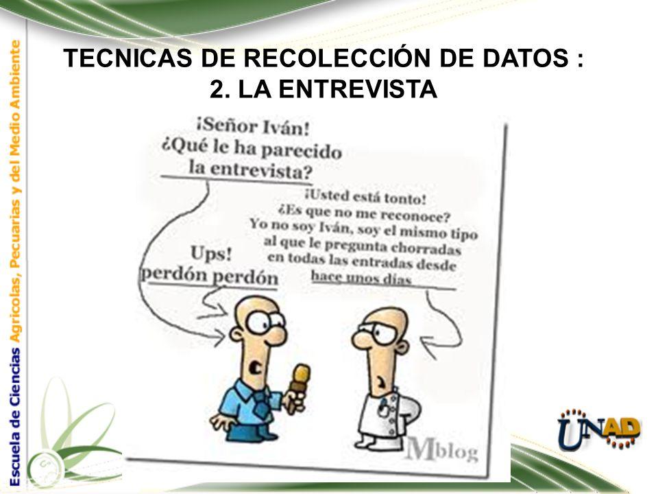 TECNICAS DE RECOLECCIÓN DE DATOS : Tipos de Observación