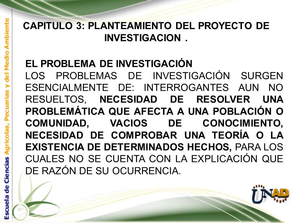 CAPITULO 3: PLANTEAMIENTO DEL PROYECTO DE INVESTIGACION. EL NIVEL ANALÍTICO, CONSISTE EN EL ANÁLISIS FINAL DE LOS DATOS, LA FORMA EN QUE SERÁN PROCESA