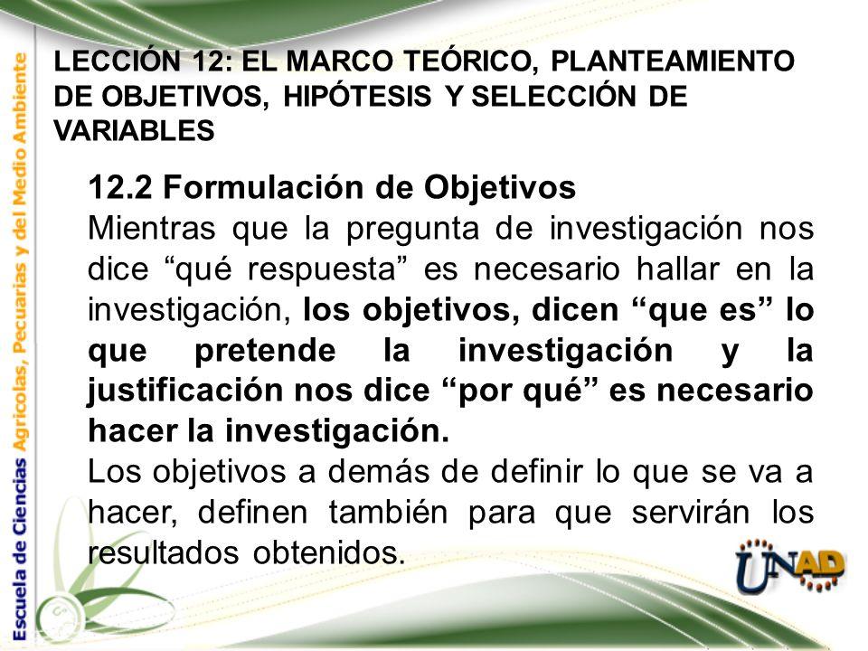 LECCIÓN 12: EL MARCO TEÓRICO, PLANTEAMIENTO DE OBJETIVOS, HIPÓTESIS Y SELECCIÓN DE VARIABLES El Marco teórico sirve al investigador para: Evitar comet
