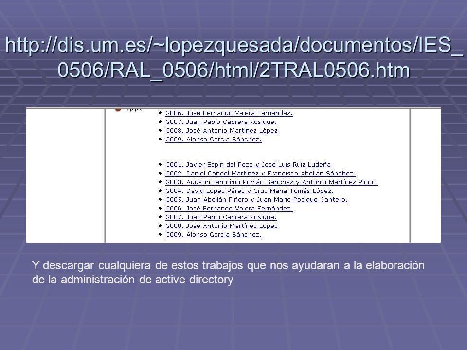 http://dis.um.es/~lopezquesada/documentos/IES_ 0506/RAL_0506/html/2TRAL0506.htm Y descargar cualquiera de estos trabajos que nos ayudaran a la elabora