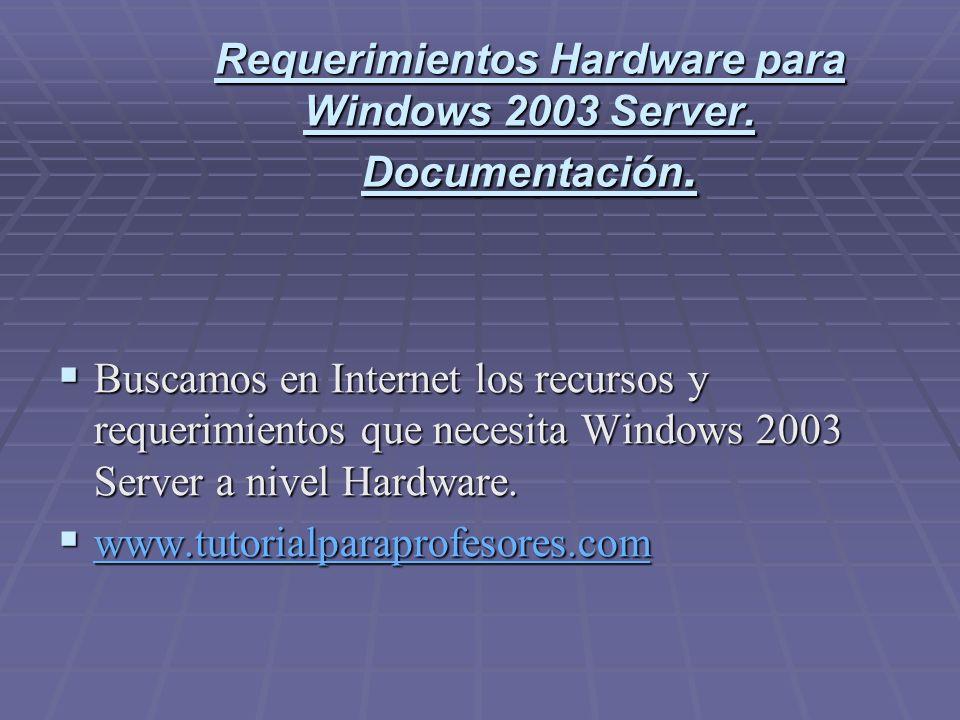 Partition magic 8.0 Una vez que tenemos los requisitos que necesitamos nos disponemos a crear la partición para el Windows Server 2003.