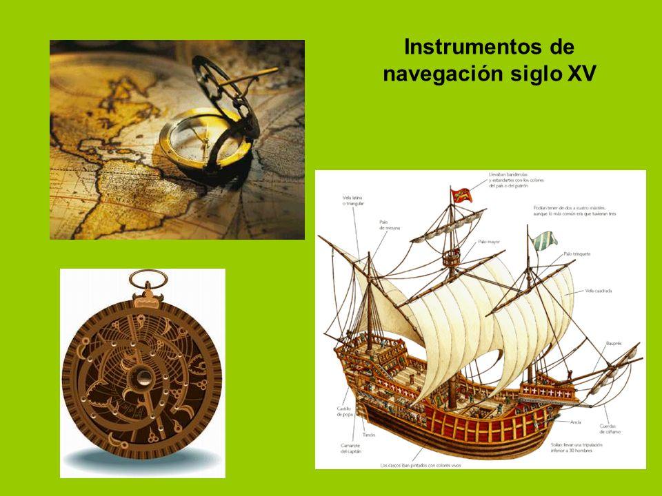 Instrumentos de navegación siglo XV