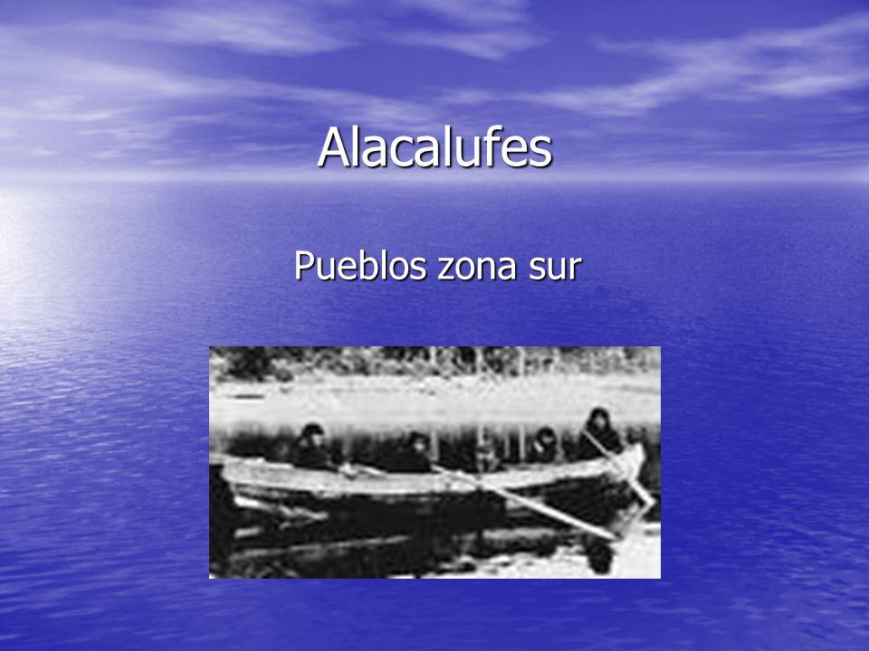 Alacalufes Pueblos zona sur