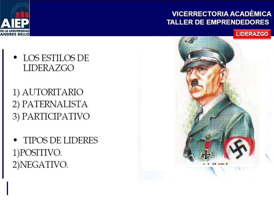 VICERRECTORIA ACADÉMICA TALLER DE EMPRENDEDORES Requisitos de un Equipo de Trabajo: Selección optima de los integrantes.