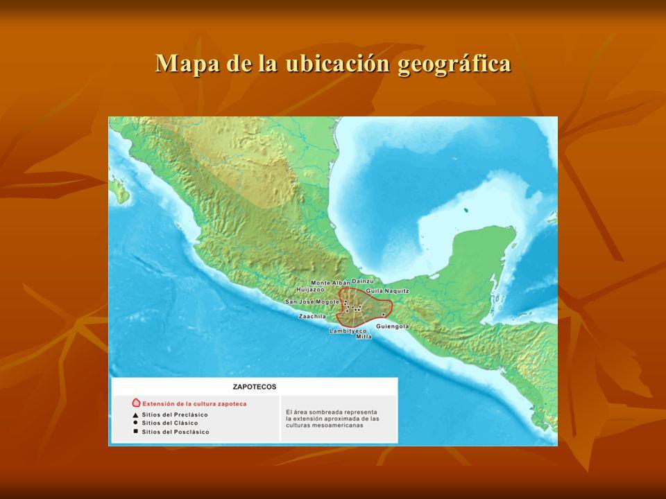 Mapa de la ubicación geográfica