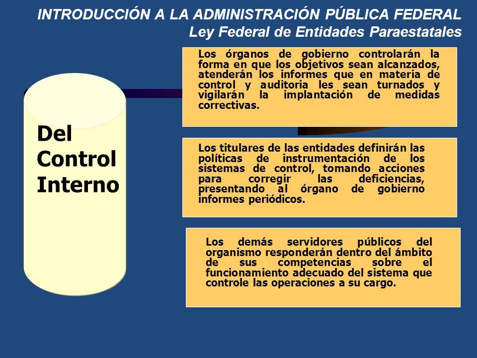 INTRODUCCIÓN A LA ADMINISTRACIÓN PÚBLICA FEDERAL Ley Federal de Entidades Paraestatales Facultades y obligaciones de los directores generales de las e