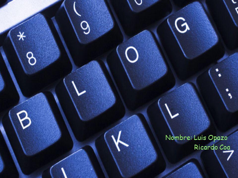 Indice ¿Que es un blog.¿ Para que sirven los blogs.