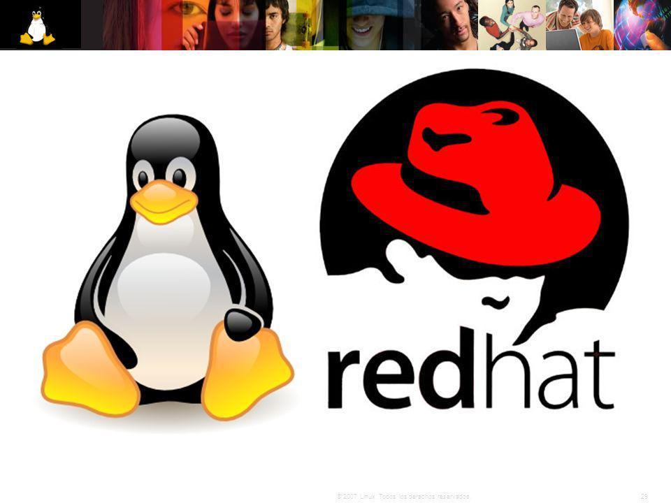 29© 2007 Linux. Todos los derechos reservados.