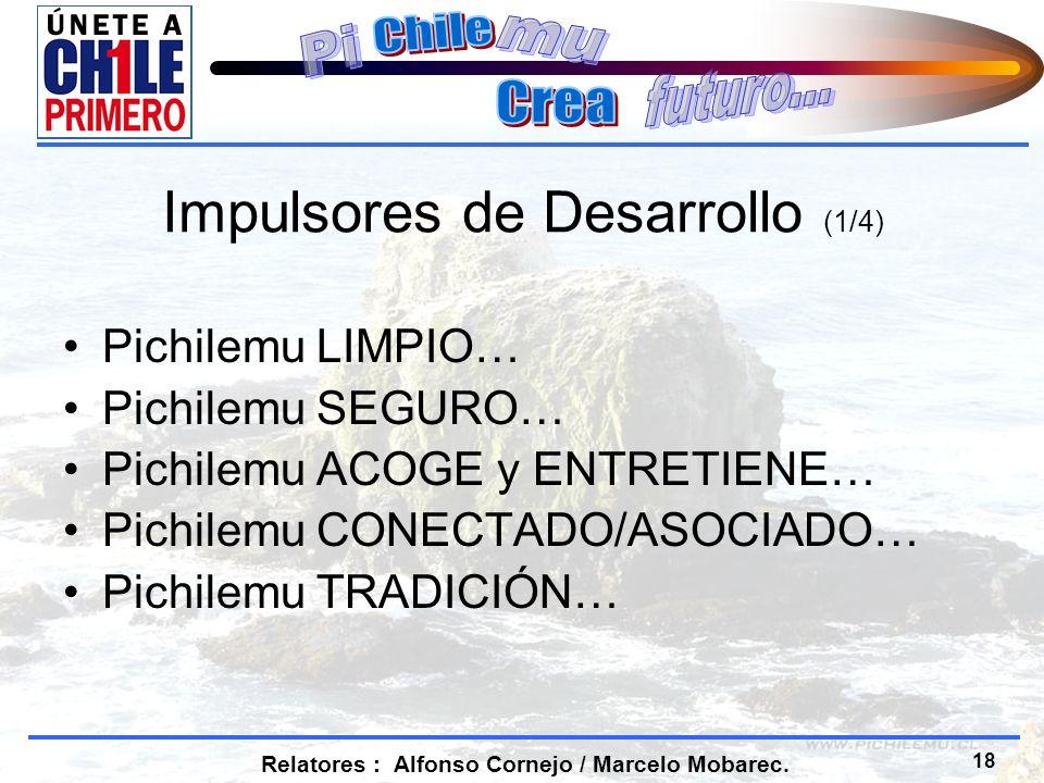 18 Relatores : Alfonso Cornejo / Marcelo Mobarec.