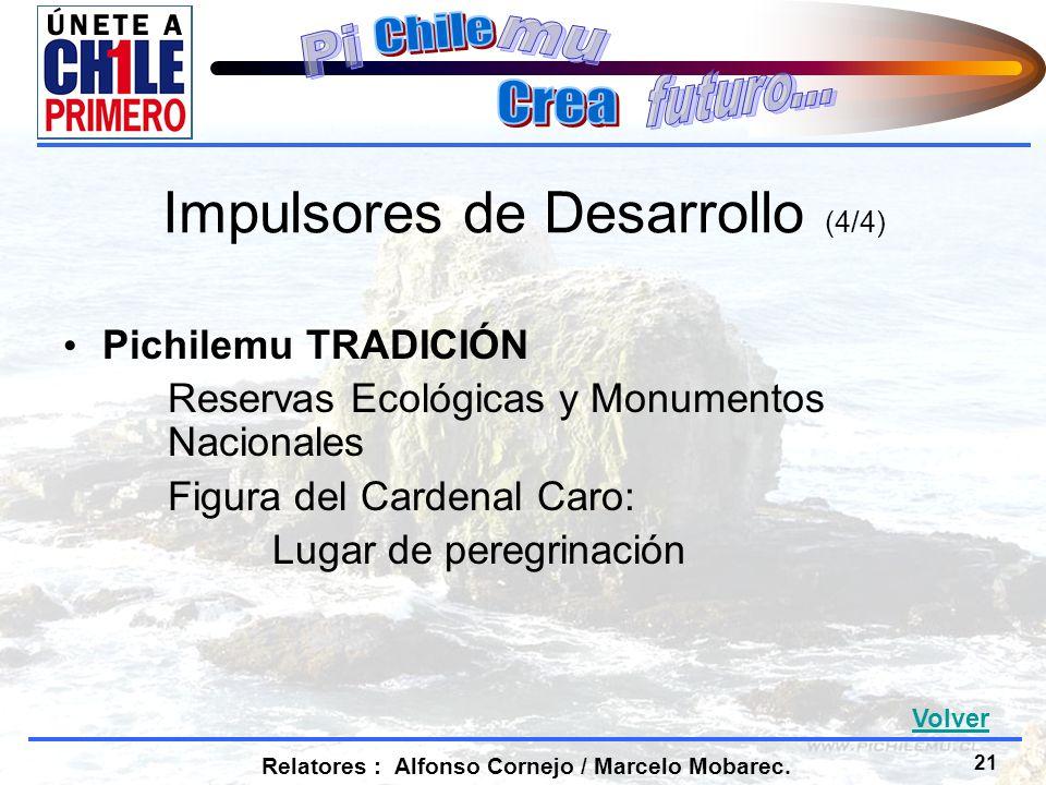 21 Relatores : Alfonso Cornejo / Marcelo Mobarec.