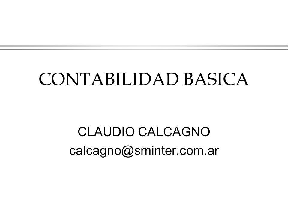 CONTABILIDAD BASICA CLAUDIO CALCAGNO calcagno@sminter.com.ar