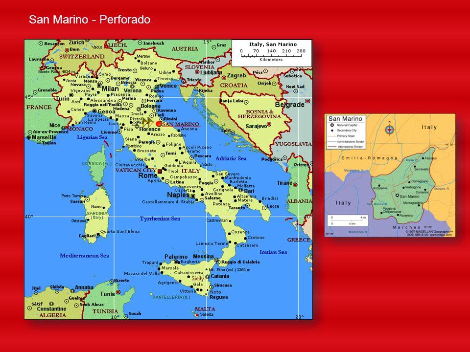 San Marino - Perforado