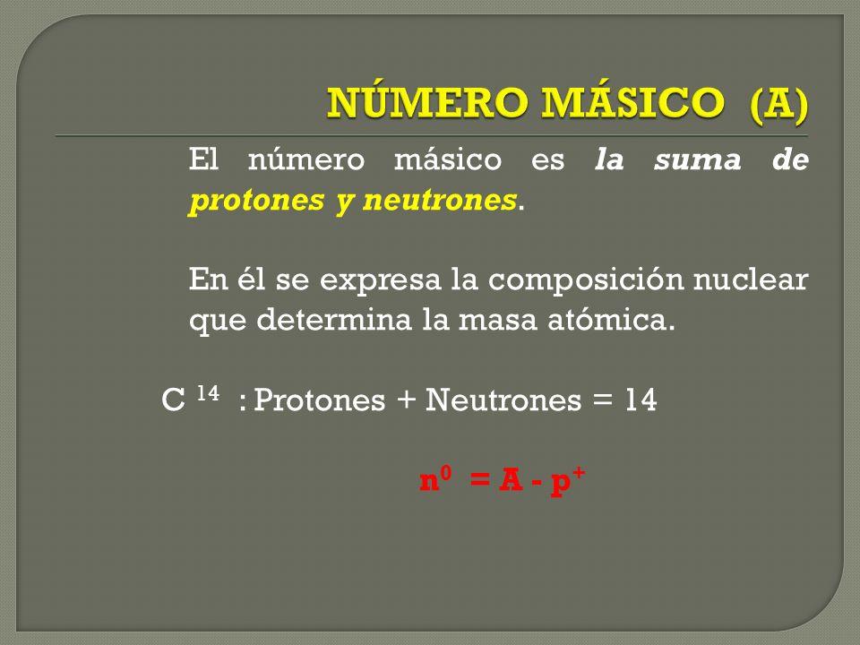 11 Na : 19 K : 17 Cl: Nº Protones 11 Nº Electrones 11 Nº Protones 19 Nº Electrones 19 Nº Protones 17 Nº Electrones 17