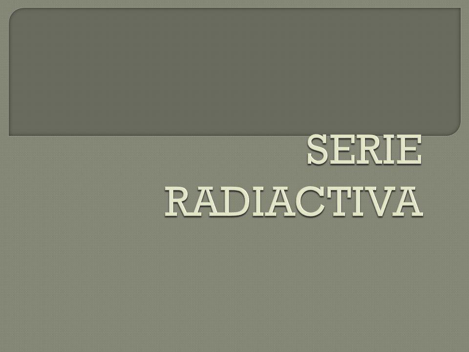 El fenómeno de la radiactividad es estrictamente nuclear, técnicamente es la desintegración espontánea del núcleo. La estabilidad nuclear es el equili