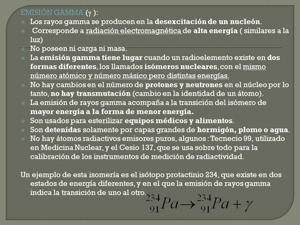 Balancear las siguientes ecuaciones nucleares e identificar su producto