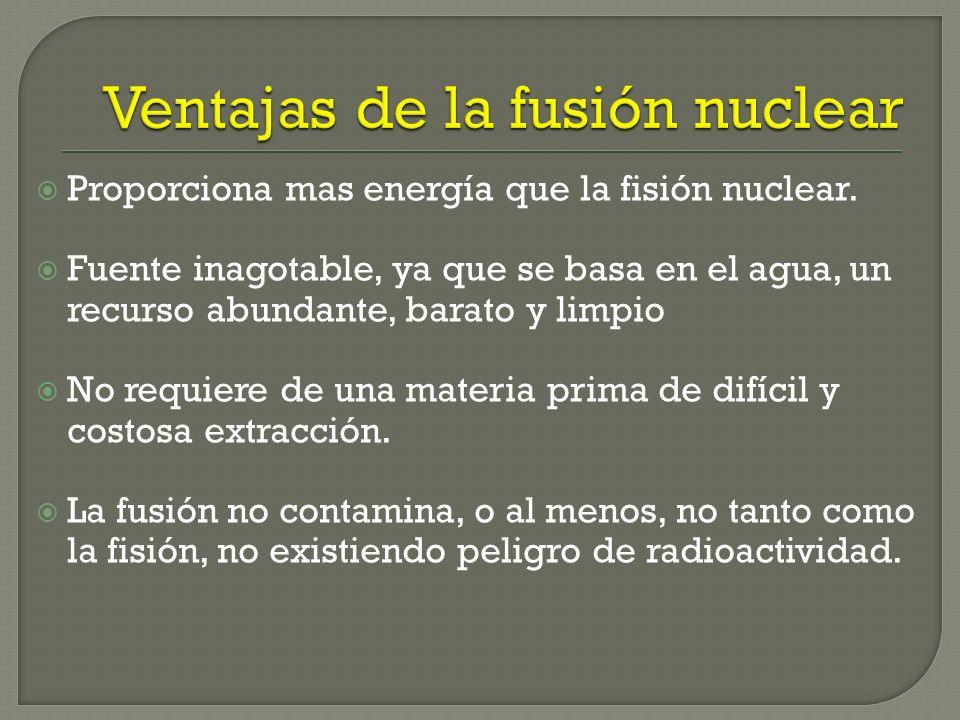 Vencer la repulsión electrostática entre dos núcleos igualmente cargados; ya que ésta hace que los núcleos se repelen. Confinar los átomos en un campo