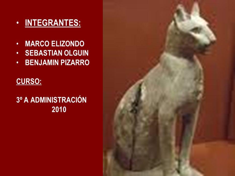 INTEGRANTES: MARCO ELIZONDO SEBASTIAN OLGUIN BENJAMIN PIZARRO CURSO: 3º A ADMINISTRACIÓN 2010