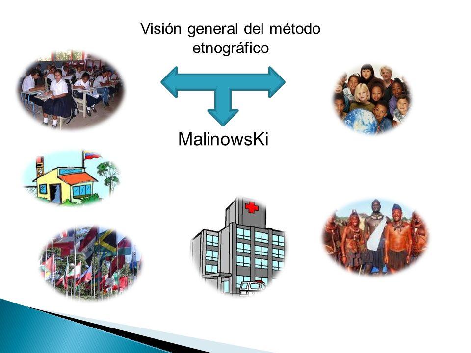 Visión general del método etnográfico MalinowsKi