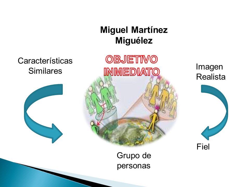 Miguel Martínez Miguélez Imagen Realista Fiel Grupo de personas Características Similares