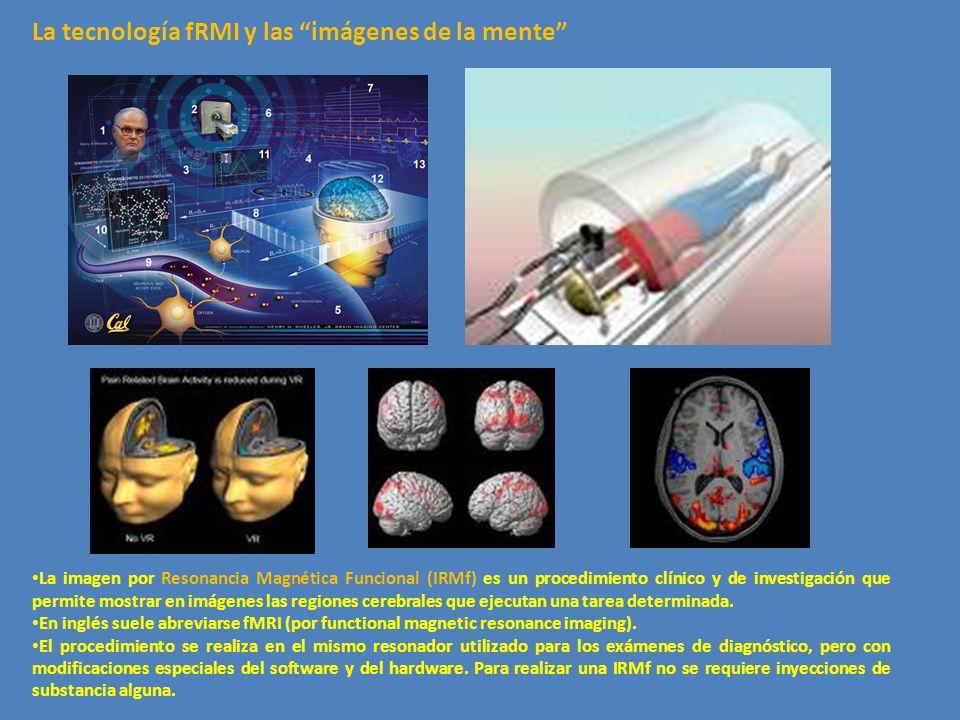 La imagen por Resonancia Magnética Funcional (IRMf) es un procedimiento clínico y de investigación que permite mostrar en imágenes las regiones cerebr
