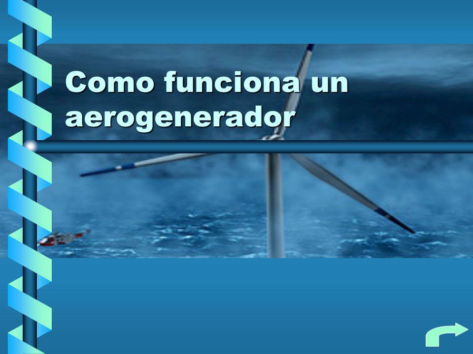 Como funciona un aerogenerador