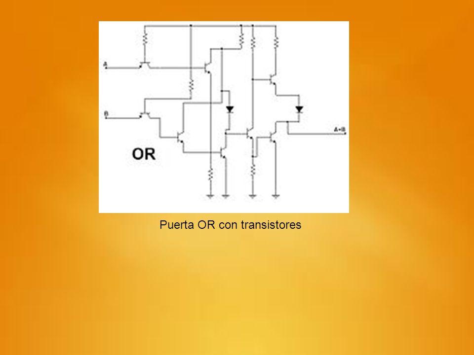 Puerta OR con transistores