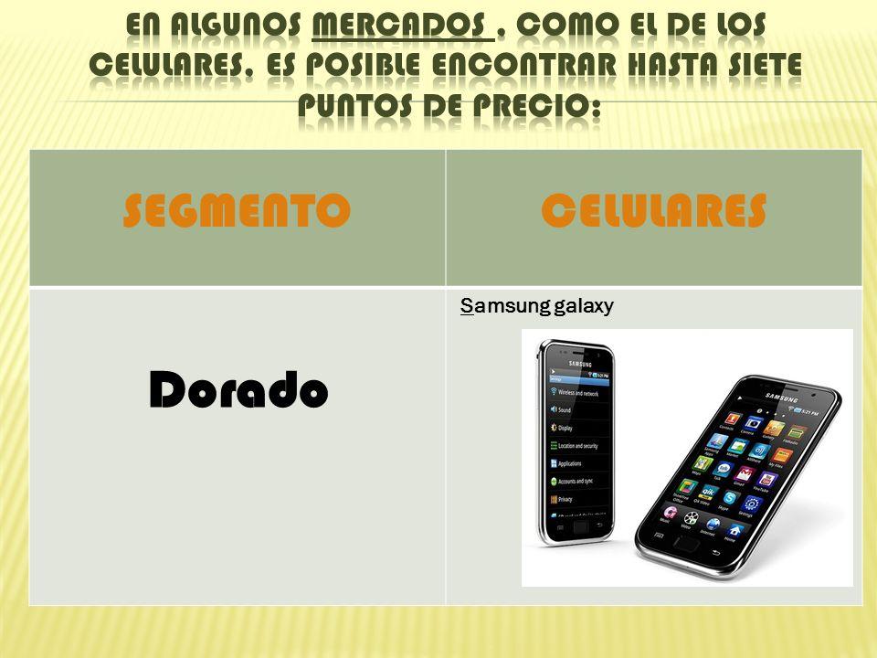 SEGMENTOCELULARES Dorado Samsung galaxy