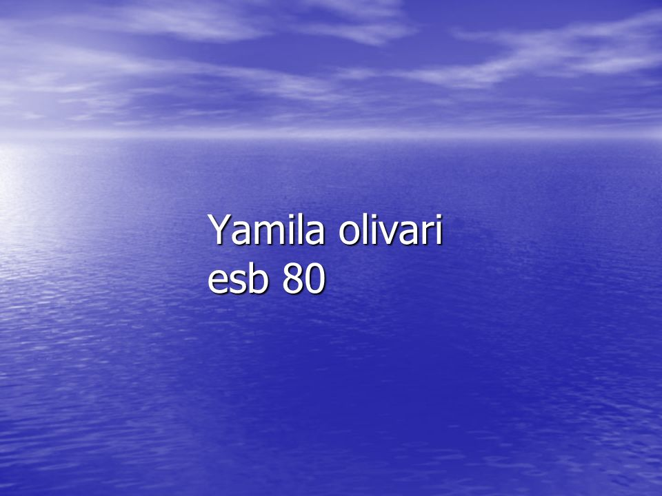 Yamila olivari esb 80