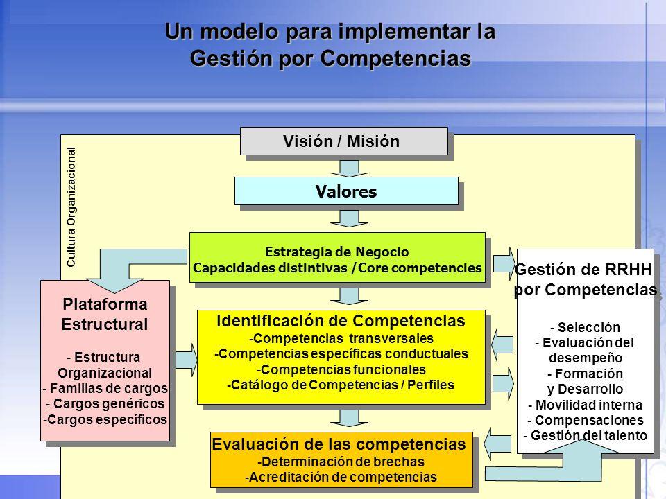 34 Visión / Misión Estrategia de Negocio Capacidades distintivas /Core competencies Estrategia de Negocio Capacidades distintivas /Core competencies V