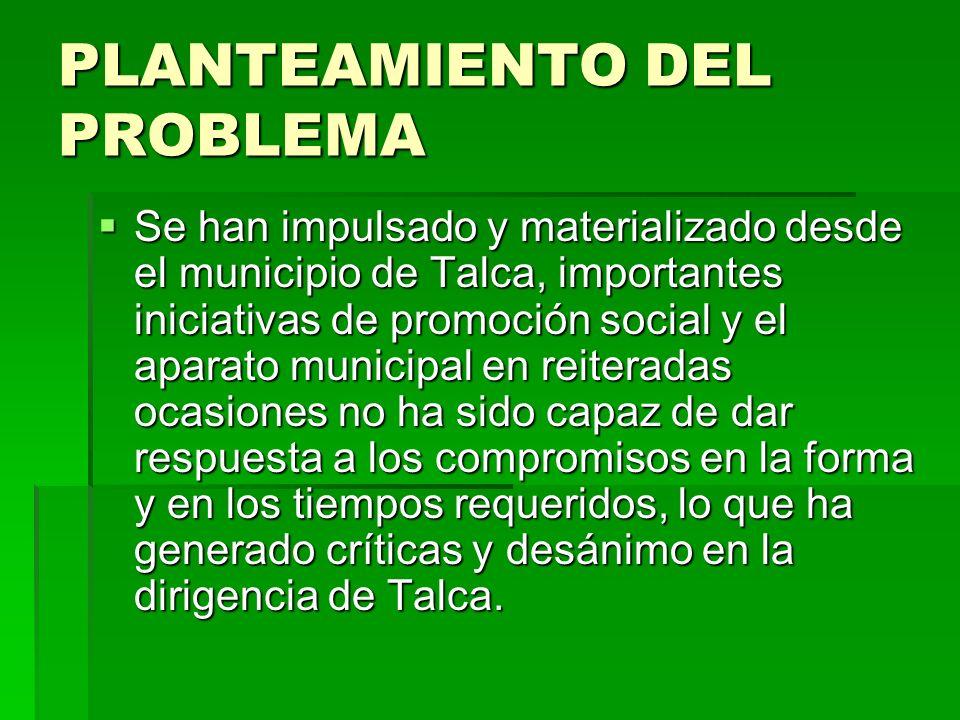 Propuestas para superar el problema Propuestas para superar el problema ORGANIZAR LA DEMANDA CIUDADANA: Determinar la demanda real hoy, que es de carácter complicada.