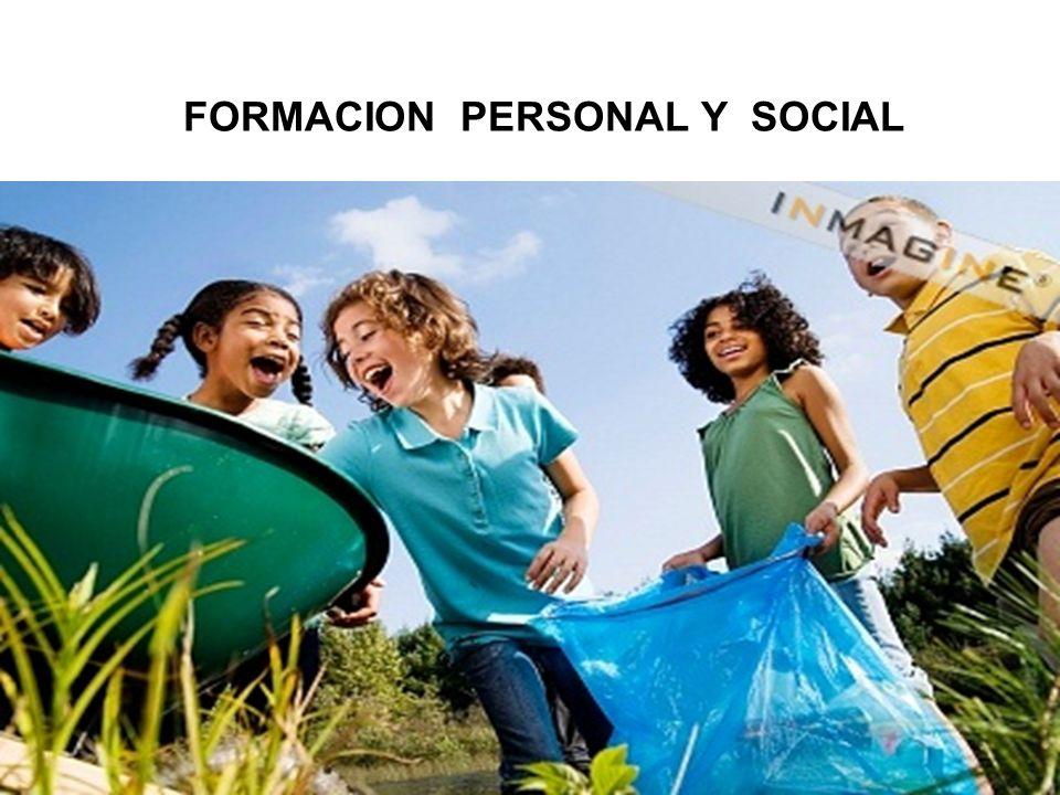 FORMACION PERSONAL Y SOCIAL