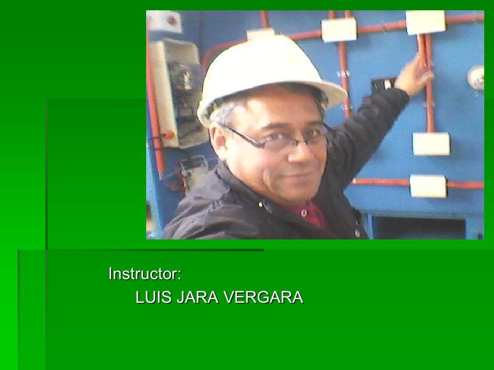 Instructor: LUIS JARA VERGARA LUIS JARA VERGARA