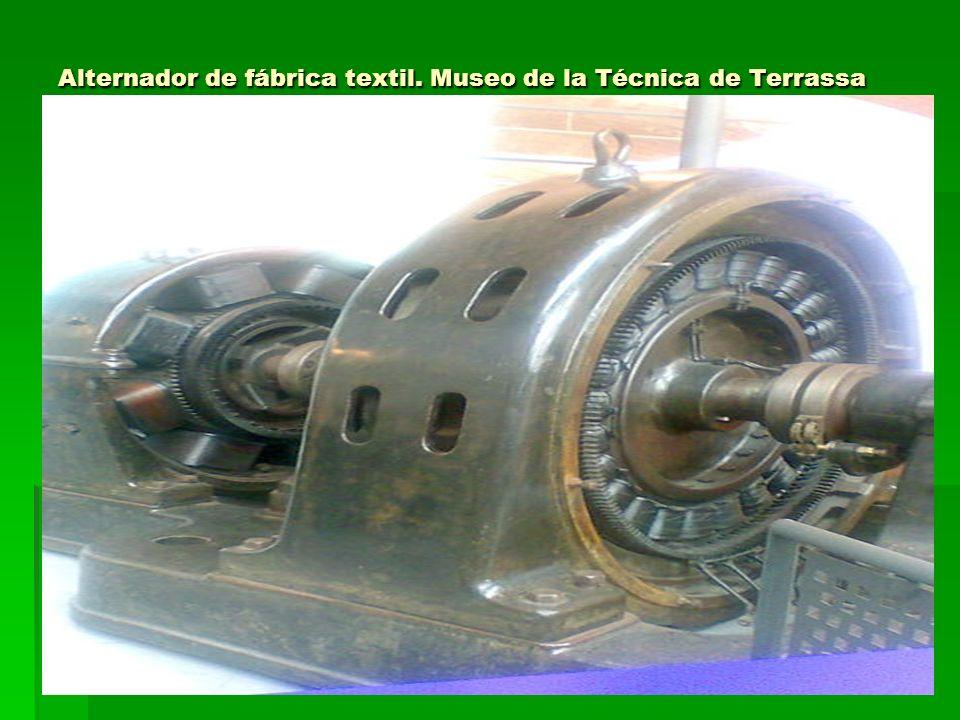 Alternador de fábrica textil. Museo de la Técnica de Terrassa