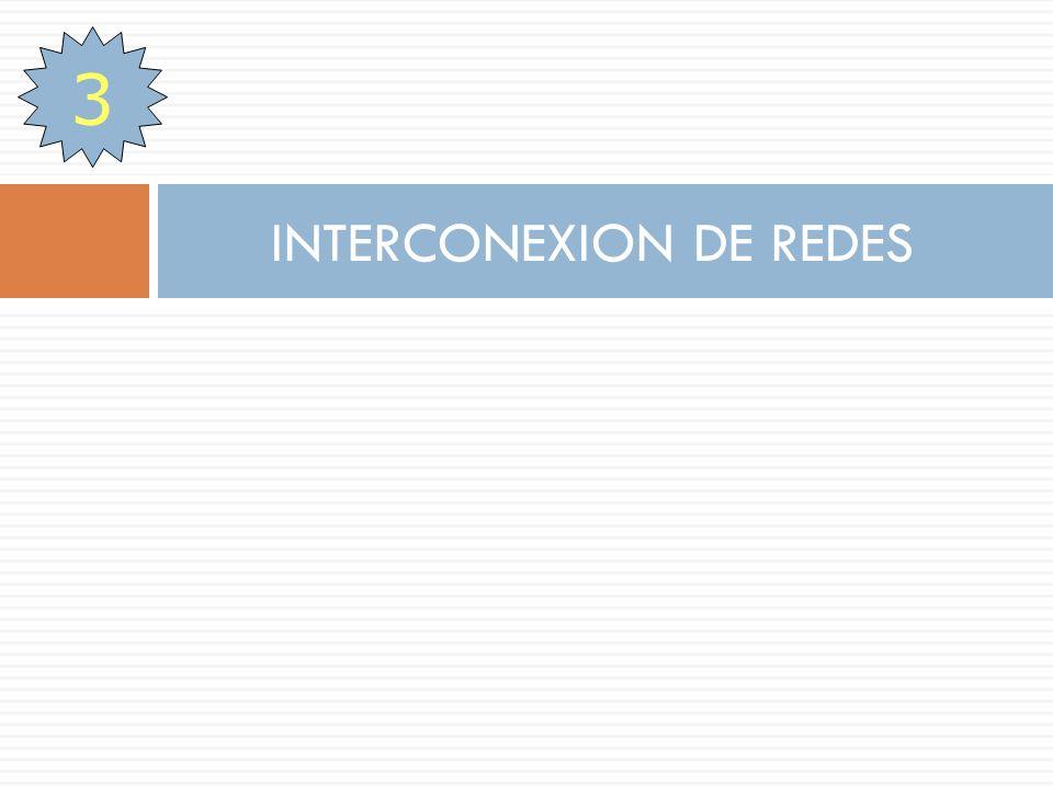INTERCONEXION DE REDES 3