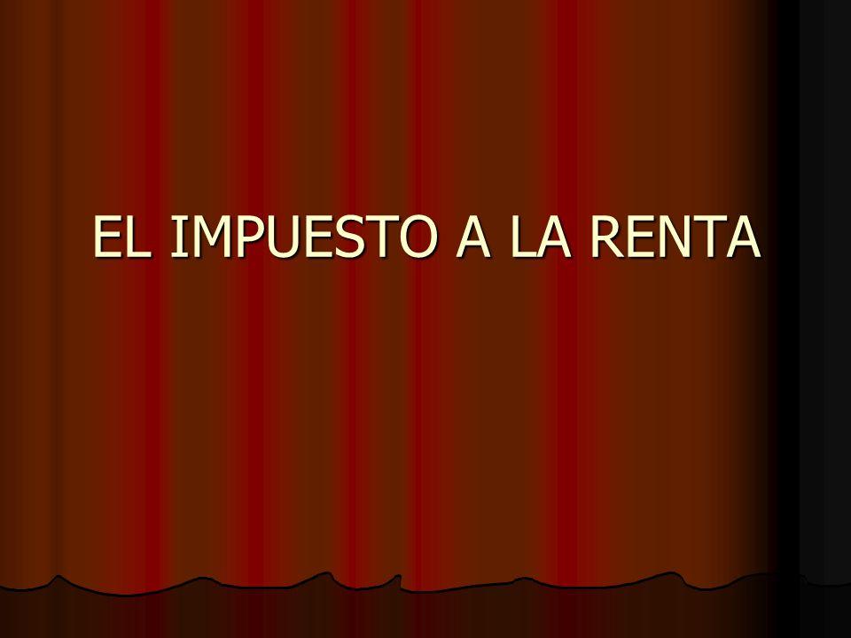 Otras Definiciones Renta Mínima Presunta (Art.2 Nº 4) Renta Mínima Presunta (Art.