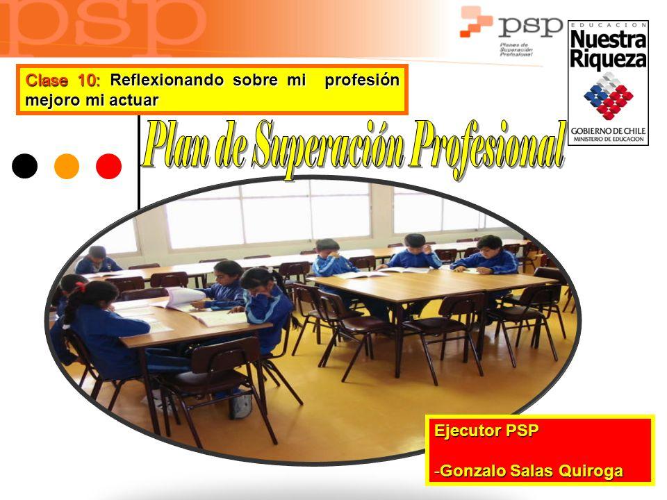 Ejecutor PSP -G-G-G-Gonzalo Salas Quiroga Clase 10: Reflexionando sobre mi profesión mejoro mi actuar